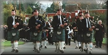Helensburgh Clan Colquhoun Pipe Band Piping and Drumming since 1913