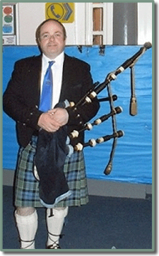 Pipe Major John Low